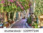 traditional houses in plaka... | Shutterstock . vector #120997144