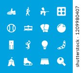 recreation icon. collection of... | Shutterstock .eps vector #1209980407