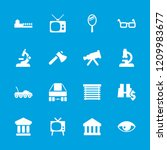 view icon. collection of 16... | Shutterstock .eps vector #1209983677
