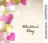 valentines day  love background.... | Shutterstock .eps vector #120999631