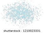 dark blue vector pattern in... | Shutterstock .eps vector #1210023331
