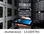 monitoring the system from... | Shutterstock . vector #121005781