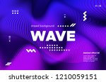 ripple of wave surface concept. ... | Shutterstock .eps vector #1210059151