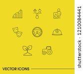 build icons set with automotive ...