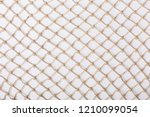 Fishnet On White Background....