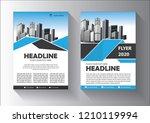 cover  layout  brochure ... | Shutterstock .eps vector #1210119994