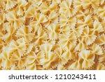 farfalle pasta background