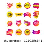 sale banner templates design.... | Shutterstock .eps vector #1210256941