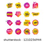 sale banner templates design.... | Shutterstock .eps vector #1210256944