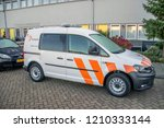 sanquin company car at... | Shutterstock . vector #1210333144