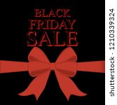 black friday sale illustration... | Shutterstock . vector #1210339324