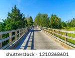 evevated footpath in the...   Shutterstock . vector #1210368601