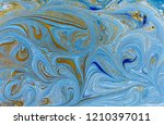 marble abstract acrylic... | Shutterstock . vector #1210397011