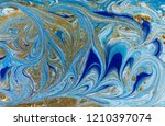 marble abstract acrylic... | Shutterstock . vector #1210397074