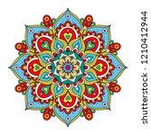 vector hand drawn doodle... | Shutterstock .eps vector #1210412944