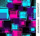 abstract seamless sport pattern ... | Shutterstock . vector #1210414717