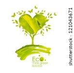 illustration environmentally... | Shutterstock . vector #121043671