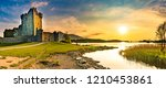 Panorama Of Ancient Ross Castl...