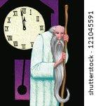 Illustration Of Fathr Time