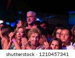 faro  portugal  30th august ... | Shutterstock . vector #1210457341
