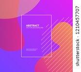 liquid color background design. ...   Shutterstock .eps vector #1210457707