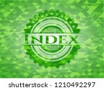 index green emblem with... | Shutterstock .eps vector #1210492297