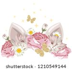 cute catroon character with...   Shutterstock .eps vector #1210549144