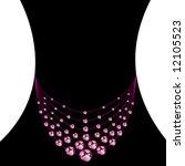 necklaces vector | Shutterstock .eps vector #12105523
