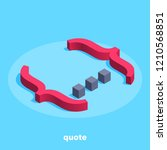 isometric image on a blue... | Shutterstock .eps vector #1210568851