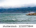 waterfront  coastline... | Shutterstock . vector #1210575844