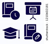 simple set of 4 icons related...   Shutterstock .eps vector #1210602181