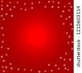 christmas background. white...   Shutterstock .eps vector #1210603114