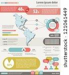 set elements for infographic... | Shutterstock .eps vector #121061449
