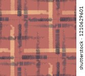 plaid. grunge stripes. abstract ... | Shutterstock .eps vector #1210629601