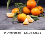 fresh ripe tangarines  food... | Shutterstock . vector #1210652611