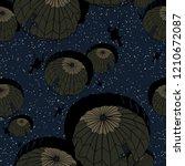 night parachute seamless...