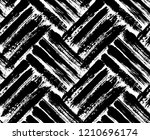 painted chevron pattern.... | Shutterstock .eps vector #1210696174
