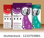 cover brochure layout annual...   Shutterstock .eps vector #1210703881