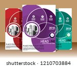 cover brochure layout annual...   Shutterstock .eps vector #1210703884