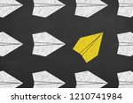 drawing change concepts on... | Shutterstock . vector #1210741984