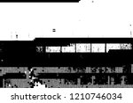 glitch overlay distress texture.... | Shutterstock .eps vector #1210746034