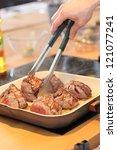 Roasted Steak Slices