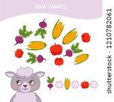 counting educational children... | Shutterstock .eps vector #1210782061