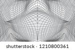 distorted surface. abstract...   Shutterstock .eps vector #1210800361