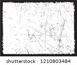 vector grunge frame.distressed... | Shutterstock .eps vector #1210803484