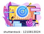 remarketing manager and... | Shutterstock .eps vector #1210813024