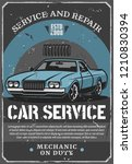 car repair service and auto... | Shutterstock .eps vector #1210830394