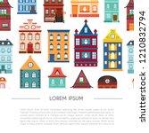 vector illustration with... | Shutterstock .eps vector #1210832794