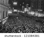 jam packed times square | Shutterstock . vector #121084381