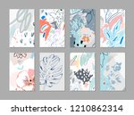creative universal floral... | Shutterstock .eps vector #1210862314